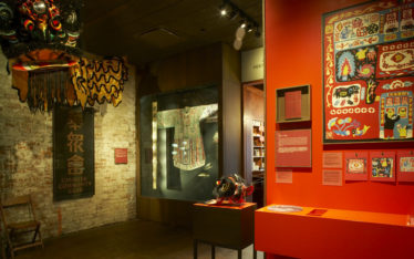 With a Single Step: Stories in the Making of America (photo credit: Museum of Chinese in America)