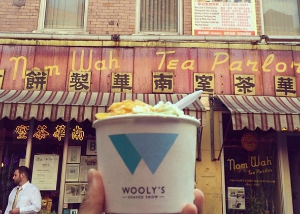 Wooly's Shaved Snow