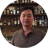 Eric Li at Nom Wah Philadelphia