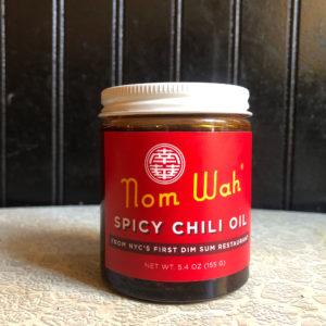 Nom Wah Tea Parlor's signature spicy chili oil