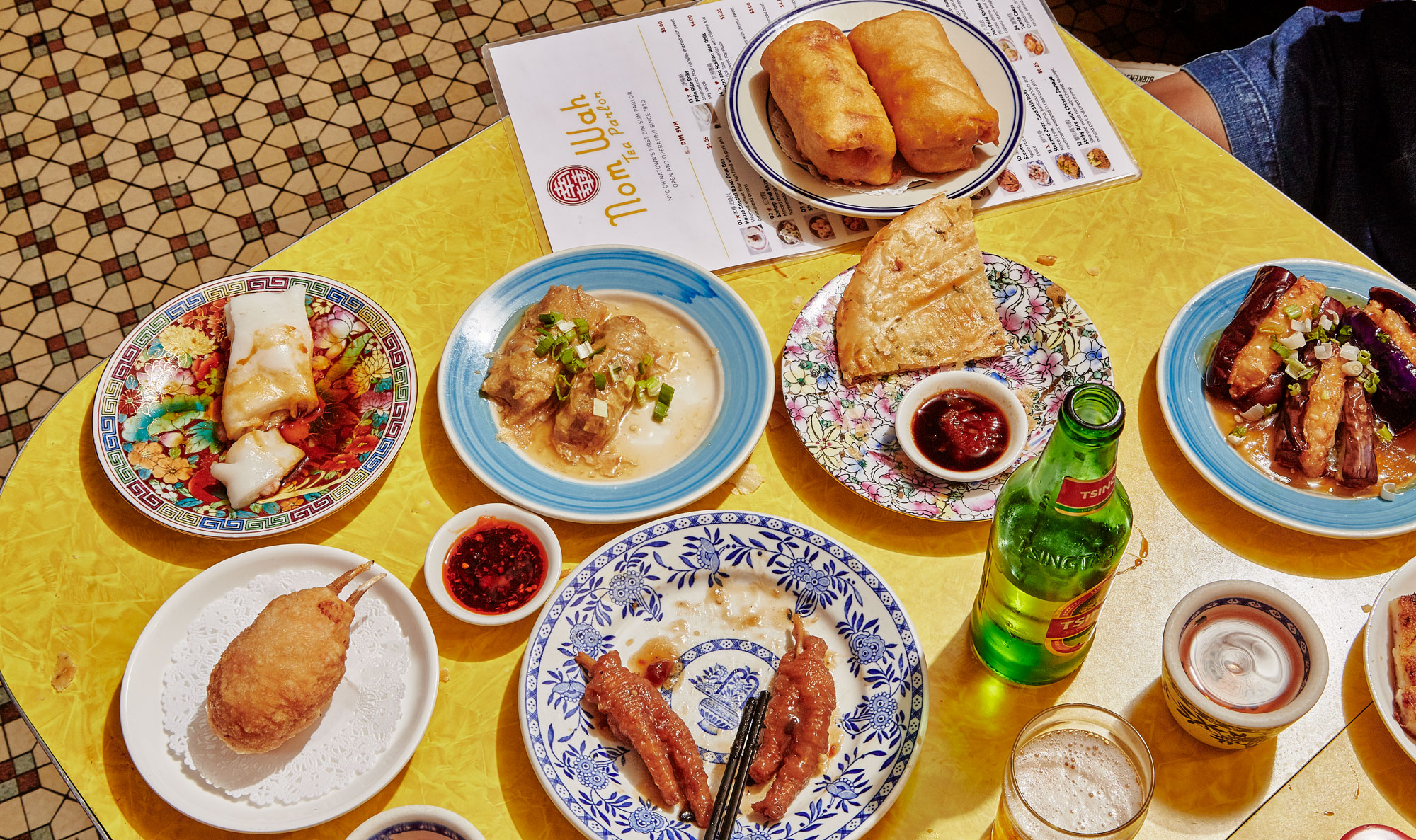 Bringing NYC's iconic restaurant to your home with The Nom Wah Cookbook