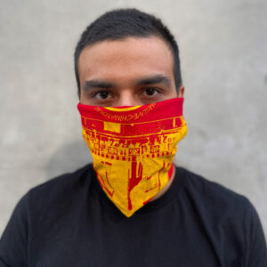 Tilit x Nom Wah bandana face mask